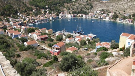 The harbour of Meis is charming and a real highlight of any visit