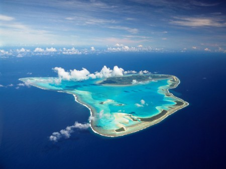 Aitutaki is the second-most-visited island in the Cook Islands