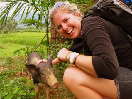 The author established a great friendship with a Vietnamese potbelly pig