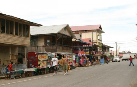 The islands of Bocas del Toro in Panama are popular with backpackers, hippies, divers and surfers