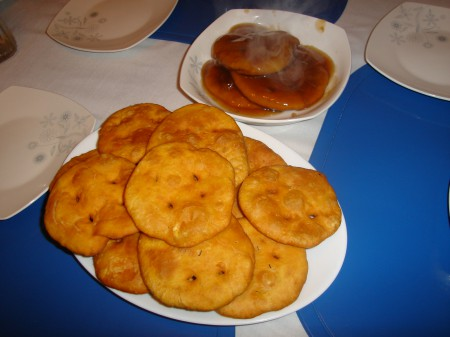 Doughy, greasy and stodgy, Chilean sopaipillas are the ultimate comfort food for those cold, rainy days.