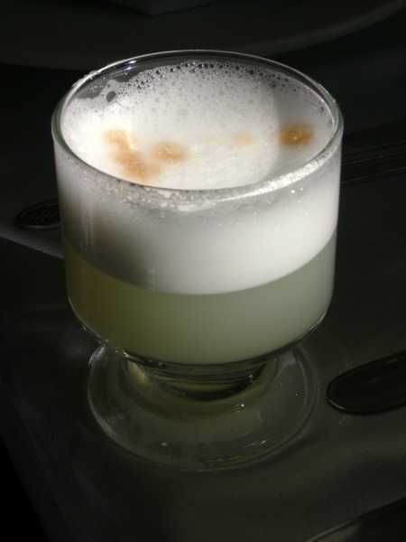 Lima's (and perhaps Peru's) most famous drink is the pisco sour
