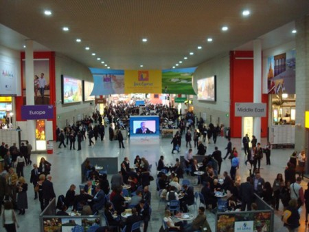 A view of the World Travel Market in 2010