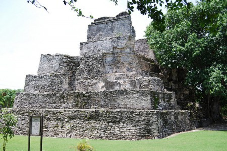 Historians agree that the Mayan city of El Meco, near Cancun, Mexico, was an important place with both a political and ceremonial role