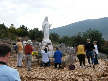 Site of the Medjugorje Apparition