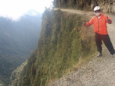 Vaughan Jacob and The World's Most Dangerous Road, Bolivia