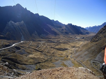 View from The World's Most Dangerous Road, Bolivia
