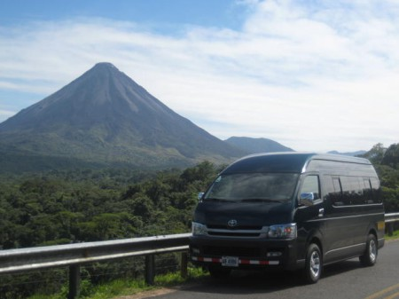 In Costa Rica, Il Viaggio Travel's fleet uses fuel-efficient vehicles powered whenever possible by locally manufactured biodiesel