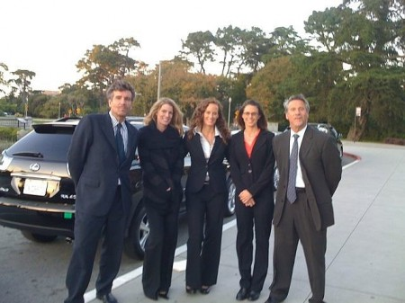 The staff of Green Carpet Limousine, San Francisco, California
