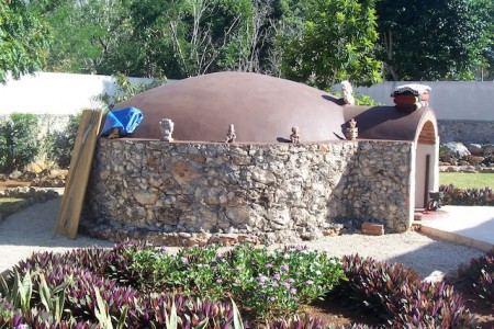 Traditional temazcal