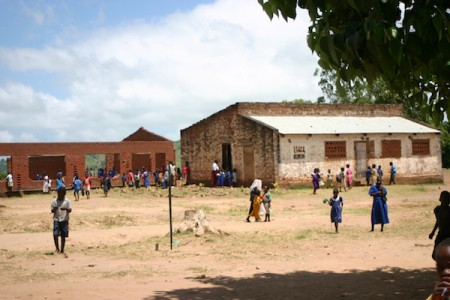 Local secondary school, Nancholi, Malawi