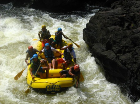 Rafters face some rapids