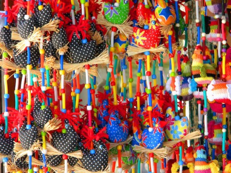 Crafts, Porto de Galinhas, Brazil