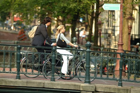 Bicycles, Amsterdam, Netherlands