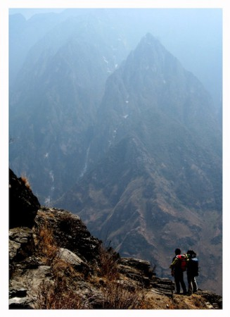 Mountain view near Tiger Leaping Gorge, Lijiang, China