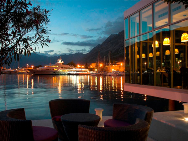 Photo of the Week 31 July 2011 - Night Falls Over the Habour, Kotor, Montenegro