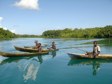 Canoes, Solomon Islands