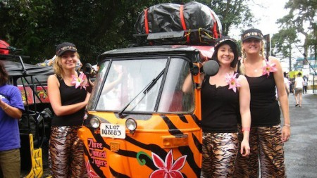 top five rickshaws- the adventurists rickshaw run