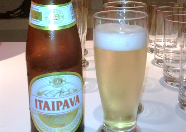 Itaipava beer is a big hit in Rio de Janeiro, Brazil