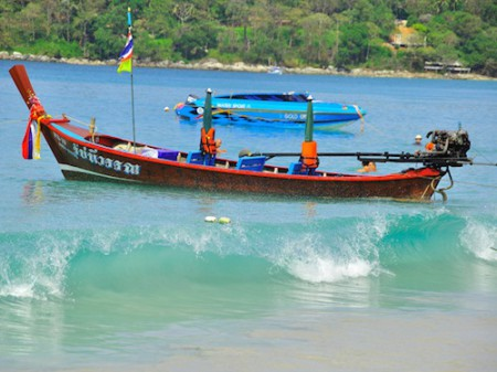 The Long-Tail Boat in Phuket, Thailand
