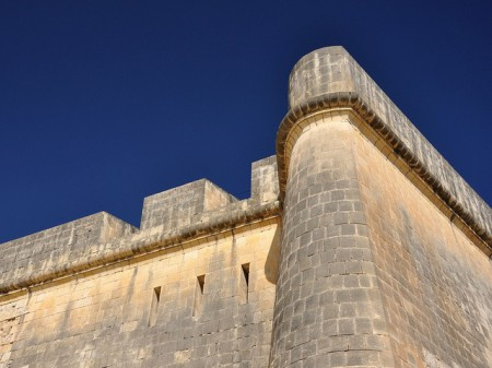 Fort St. Angelo, located at the tip of Birgu, Malta