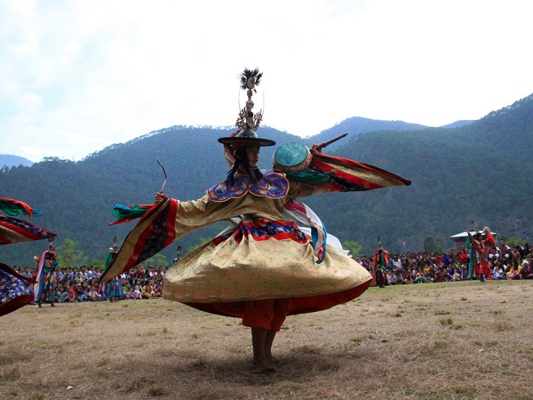 Photo of the Week (27 November 2011): Tshechu Dancers, Bhutan