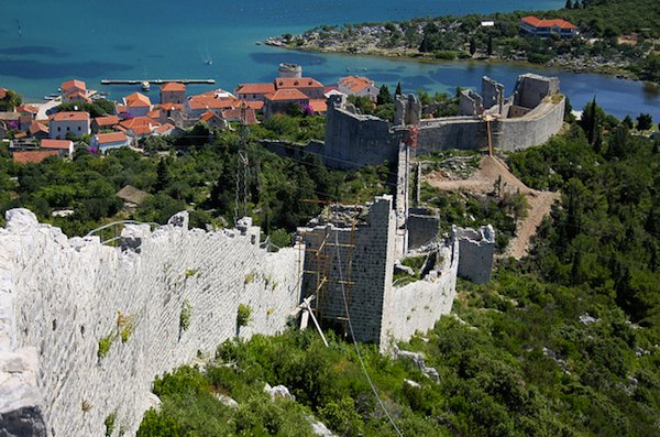 2 UNESCO World Heritage alternative - Wall of Ston, Croatia