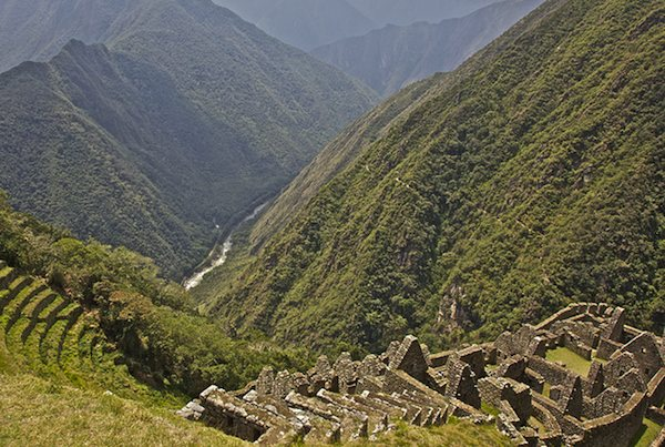 5 UNESCO World Heritage alternative - Winay Wayna, Peru