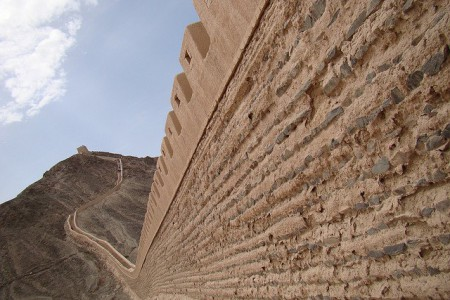 China World Heritage - Great Wall - Hexi corridor
