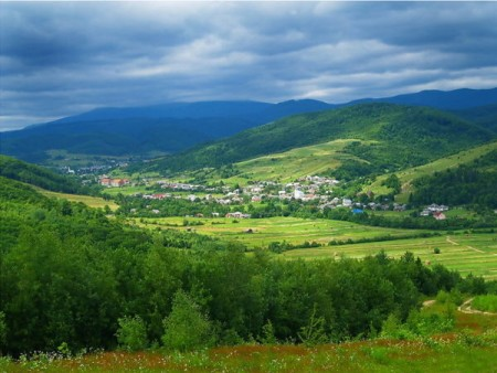 The Transcarpathia region of southwest Ukraine