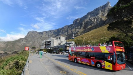 Cape Town sightseeing bus