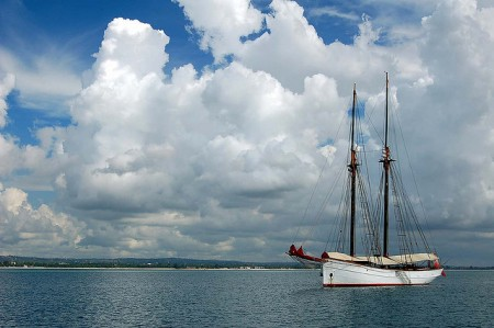 Sailing trips are a popular from Dar Es Salaam, Tanzania
