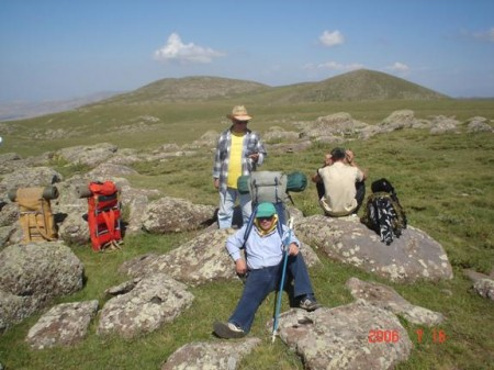 Armenia's rough and mountainous terrain holds many challenging trails for hikers