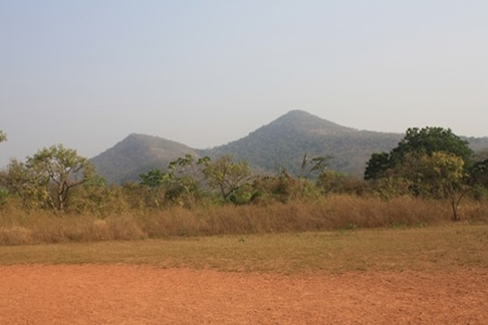 ecotourism ghana kyabobo breast mountains