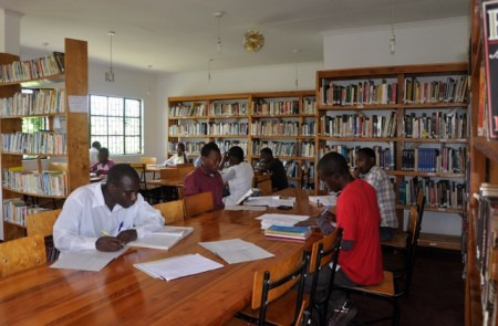The Jifundishe Free Library, Tanzania, offers adult literacy classes, children's workshops, an Independent Study program