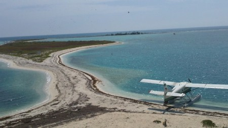 Dry Tortugas National Park - Seaplane by Amber Nolan