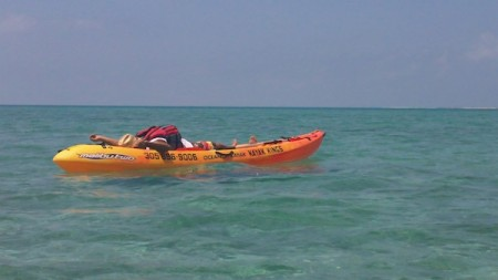 Dry Tortugas National Park - (8) kayak bliss by Amber Nolan