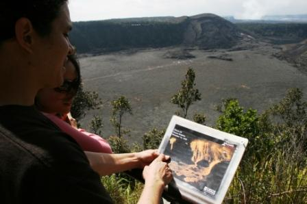 volcano history tour, Big Island, Hawaii