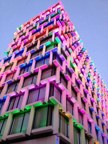 Photo of the Week (20 May 2012) - Colourful Council House, Perth, Australia