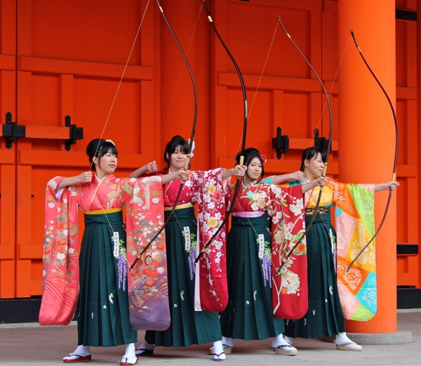 Photo of the Week (29 July 2012): Kyoto Annual Archery Festival, Kyoto, Japan