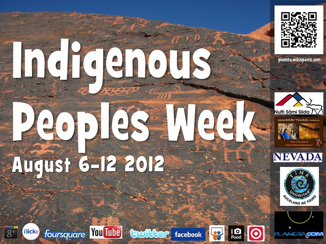 Indigenous Peoples Week - August 6-12, 2012
