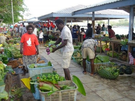 Farmers markets - Gizo Solomon Islands