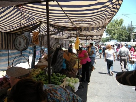 farmers markets - santiago chile
