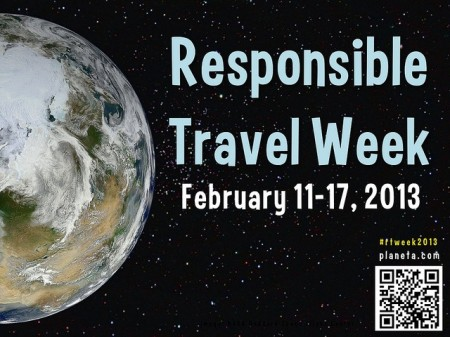 Responsible Travel Week 2013 poster