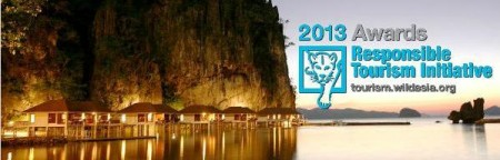 Wild Asia 2013 Responsible Tourism Awards banner