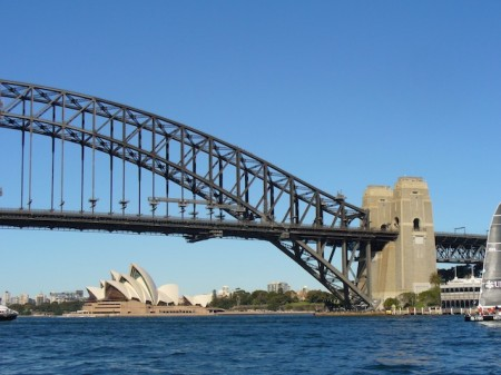 Sydney's Harbour Bridge and Opera House