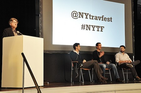 Media panel at Representatives from leading travel media spoke at the 2013 New York Travel Festival at 2013 New York Travel Festival