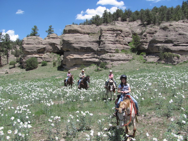 Family travel and dude ranches: a chance to slow down