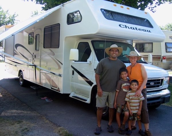 Family with an RV