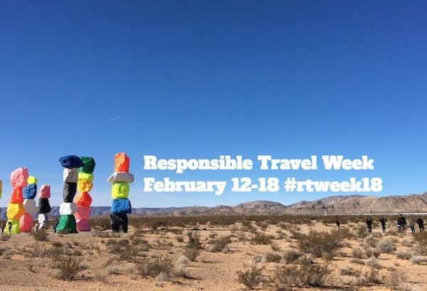 responsible tourism events - #rtweek18